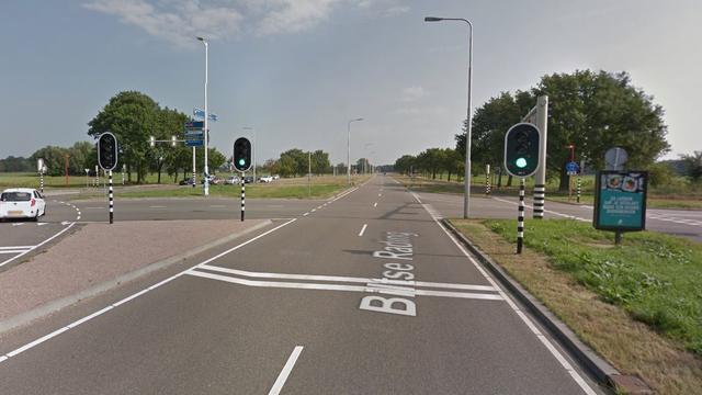 Gewonde door auto-ongeluk op Biltse Rading