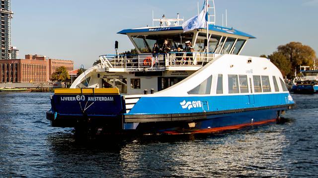 Drie partijen onderzoeken ongeluk met pont in Amsterdam