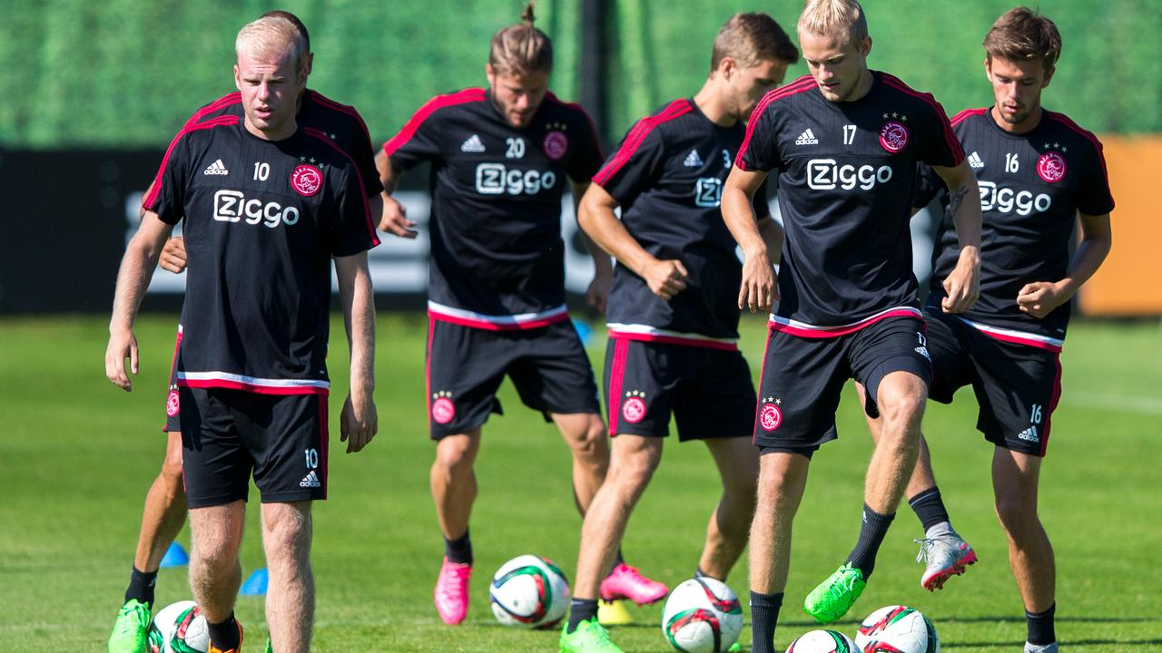 De Boer houdt vast aan jonge ploeg bij Ajax - Rapid Wien