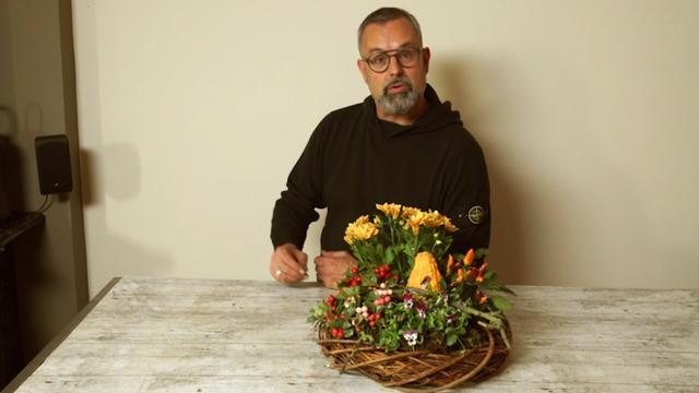Creatief met groen: maak in een handomdraai deze mooie herfstvaas