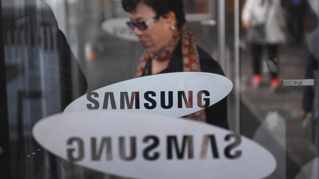 'Gelekte afbeelding toont Samsung Galaxy S10 met cameragat in scherm'