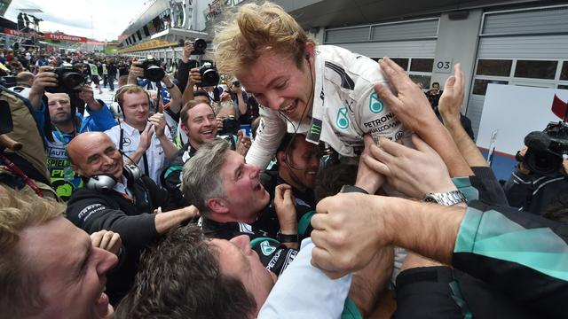 Rosberg: 'De start maakte de race'