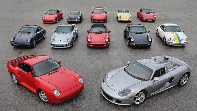 Porsche-verzameling onder de hamer