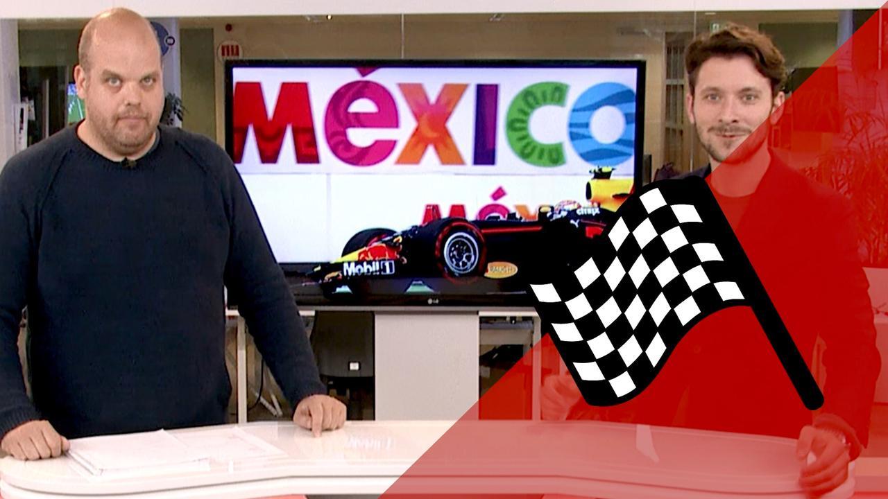 Vooruitblik F1: 'Verstappen kan weer winnen in Mexico'