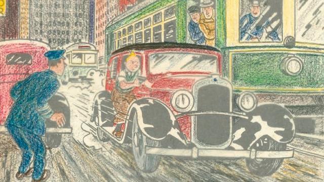 Zeldzame tekening van Kuifje verkocht voor ruim 750.000 euro