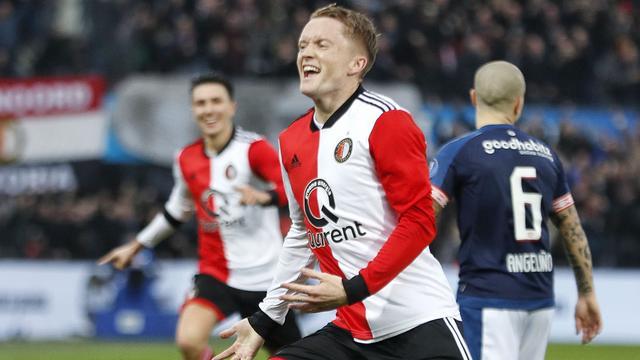 Larsson blij dat extra werk op training werd beloond in topper tegen PSV