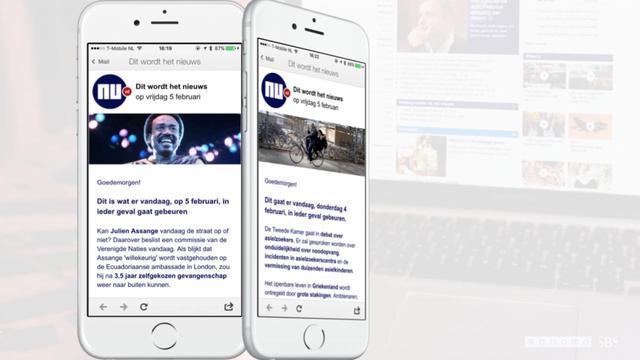Meld je aan voor de ochtendnieuwsbrief van NU.nl