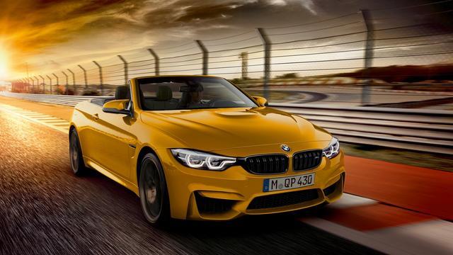 BMW presenteert nieuwe versie M4 Cabrio
