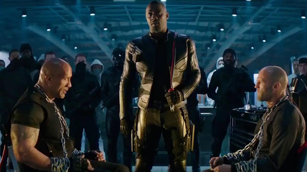The Rock zit Idris Elba achterna in spin-off Fast & Furious