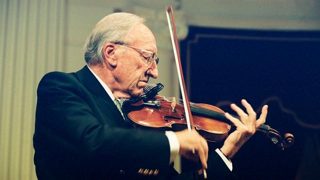 Concertmeester en violist Herman Krebbers (94) overleden