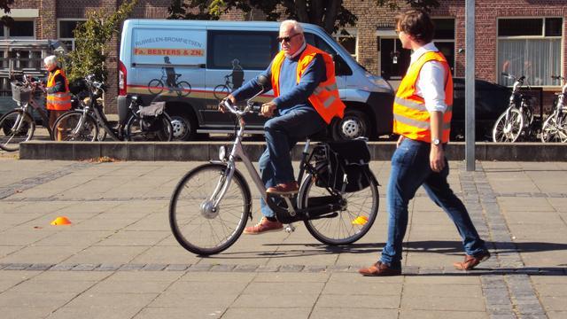 Veel animo voor informatiedag elektrische fietsen