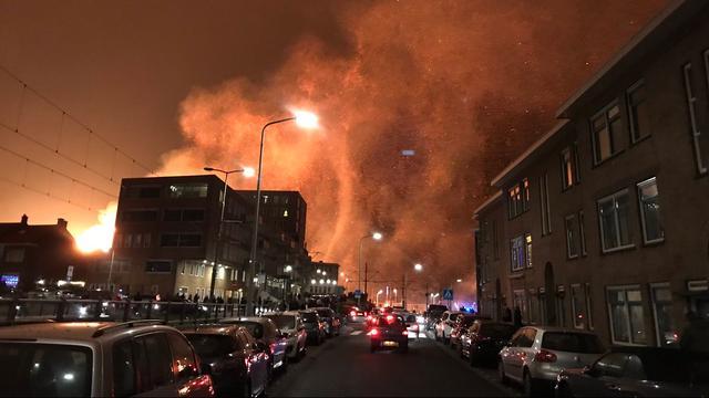 burgemeester: 'geluk dat niemand in scheveningen gewond is'   nu