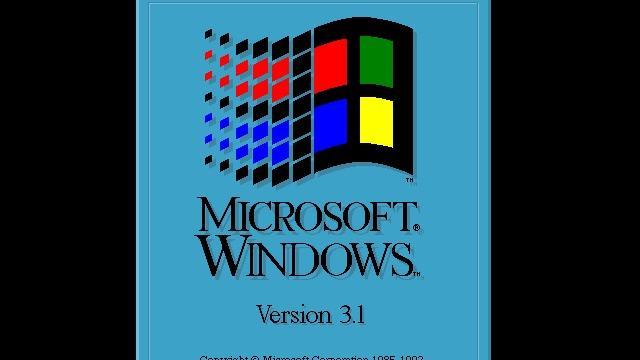 Storing op luchthaven Parijs veroorzaakt door Windows 3.1-computer