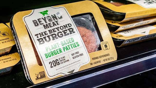 'Beyond Meat-burger is vooral populair door de Amerikaanse marketing'