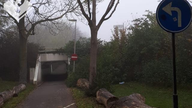 Politie voert extra controles uit bij fietstunnel Prins Bernhardlaan