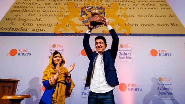 Syrische vluchteling Mohamad wint kindervredesprijs