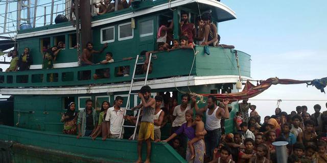 Bangladesh vernietigt vluchtelingenboten wegens drugshandel