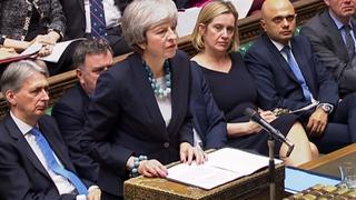 Live: Britse premier May geeft verklaring over Brexit