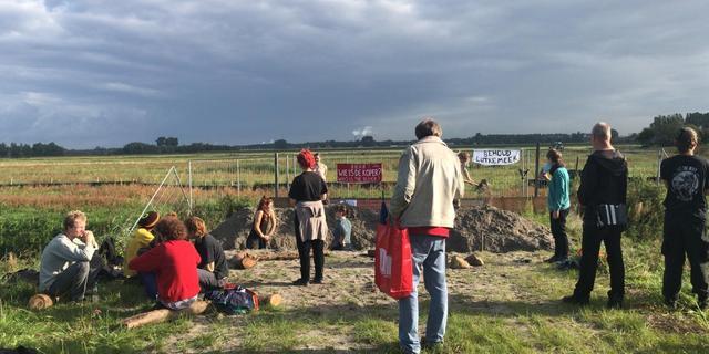 Omwonenden Lutkemeerpolder proberen start nieuwbouw te blokkeren