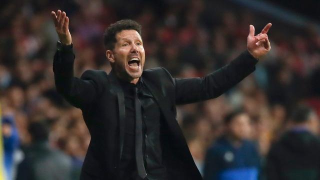 Simeone wil na debacle met Atletico in Champions League niet opgeven