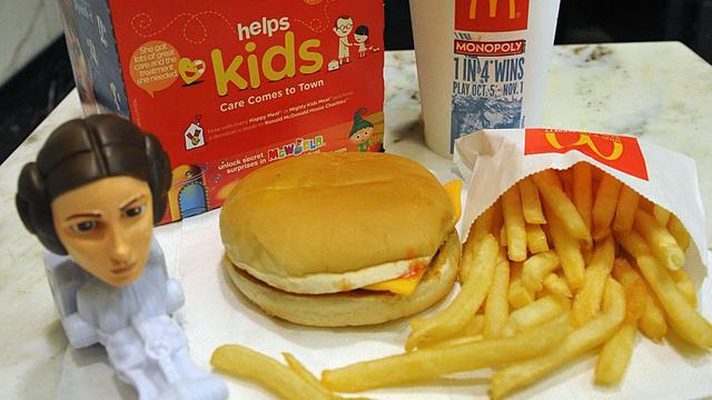 McDonald's gaat kinderboeken weggeven bij Happy Meals