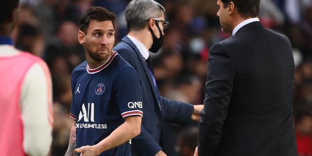Pochettino haalde Messi naar de kant vanwege blessure: 'Was beste beslissing'