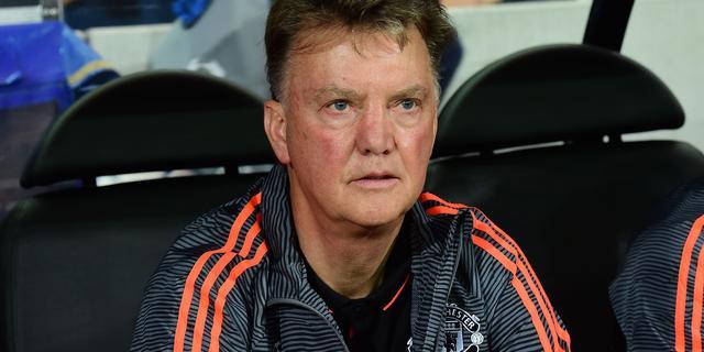 Van Gaal genoot 'bij vlagen' van spel United tegen Club Brugge