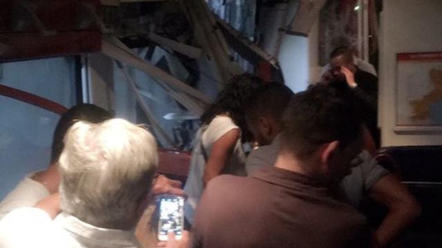 Acht gewonden bij treinongeluk in Zuid-Frankrijk