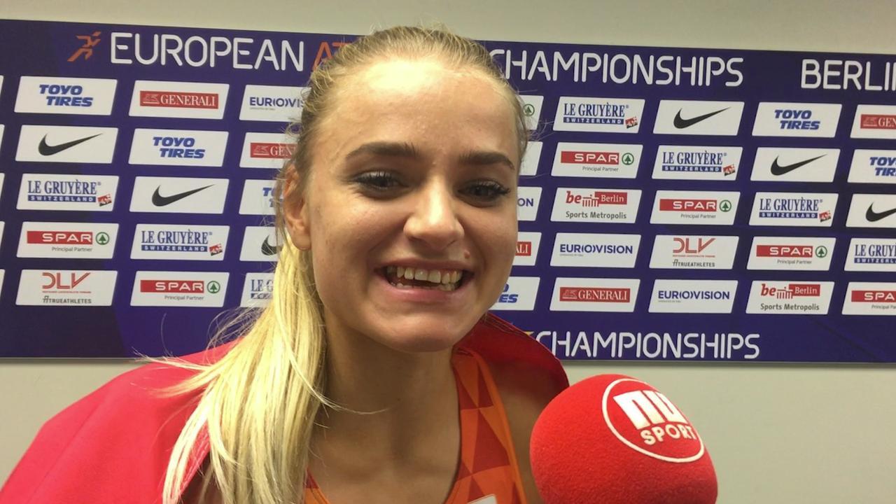 De Witte na EK-brons: 'Toen ik mijn zusje zag, wist ik dat het goed zat'