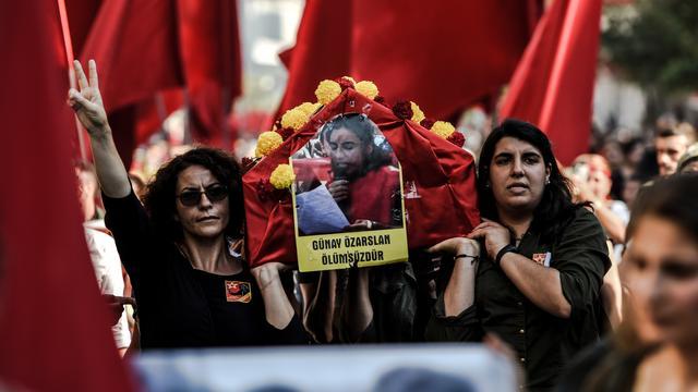 De Koerden worden het slachtoffer van de Turkse strijd tegen IS