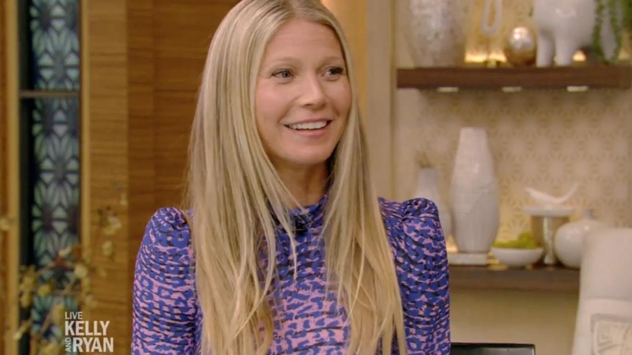 Gwyneth Paltrow vertelt over huwelijksreis in talkshow