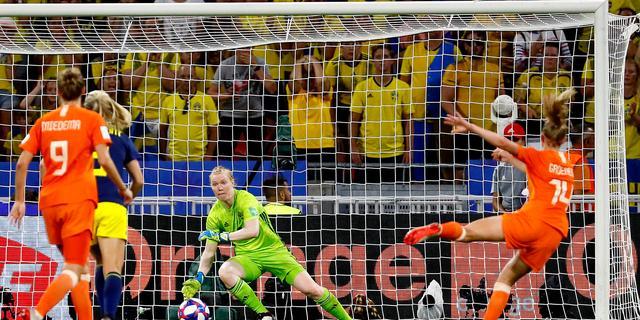 Treffer Groenen tegen Zweden genomineerd voor mooiste WK-goal