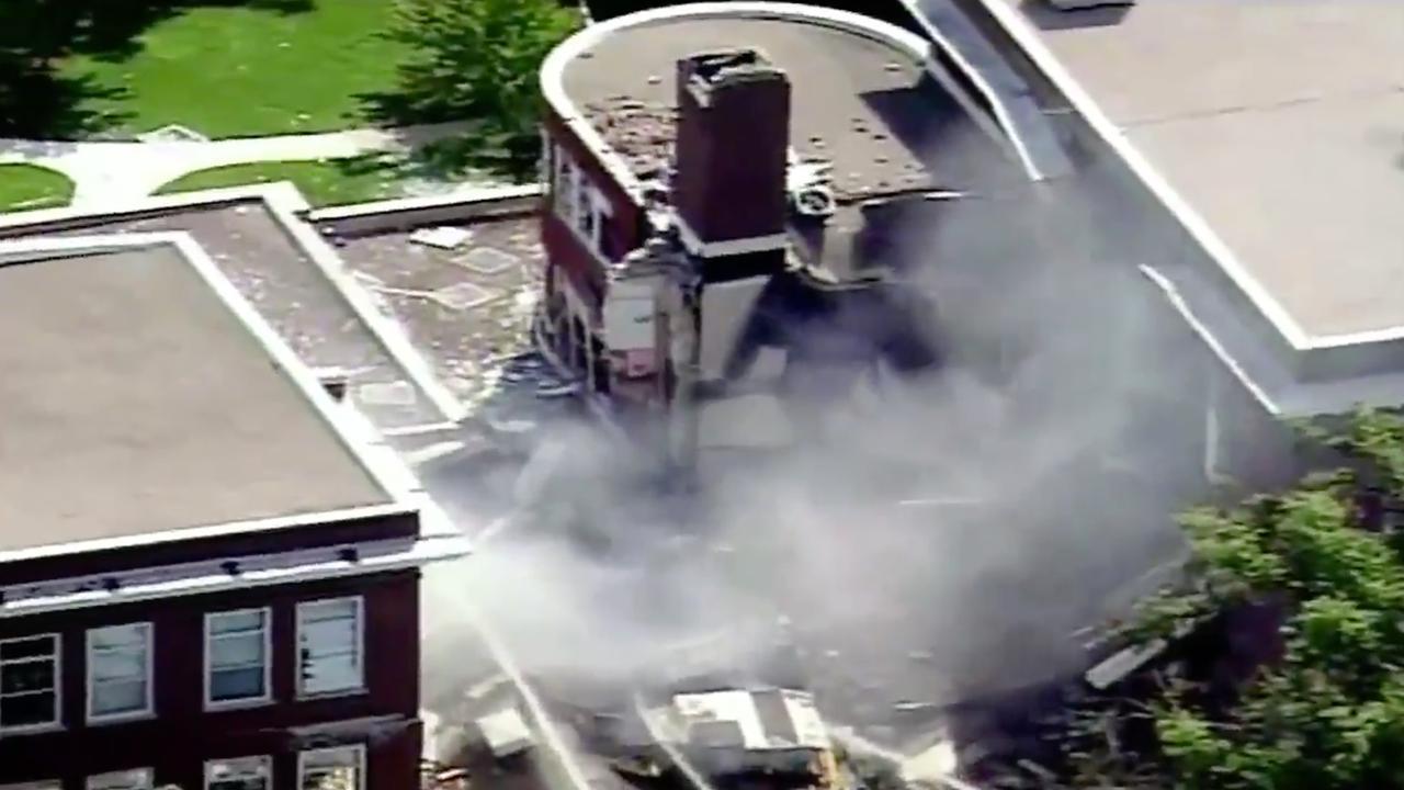 School Minnesota stort in na explosie veroorzaakt door bouwvakkers