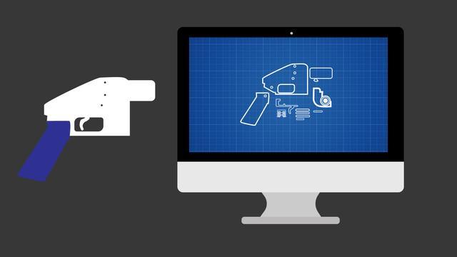 Online blauwdruk 3D-pistool verboden, wat is het?