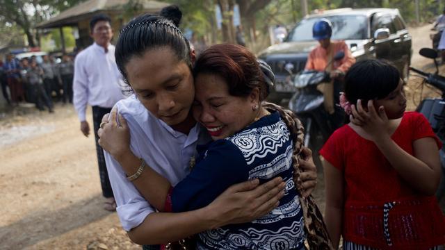 Nieuwe president Myanmar laat weer politieke gevangenen vrij