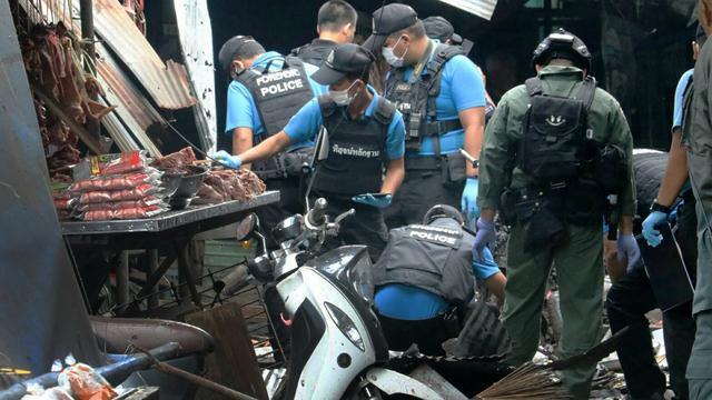Drie doden door bomaanslag op markt in zuiden van Thailand