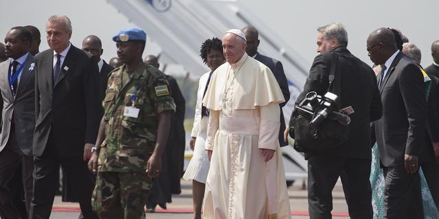 Paus geland in Centraal-Afrikaanse Republiek