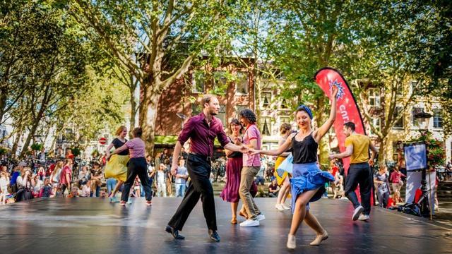 Duizenden cultuurliefhebbers bezoeken Utrechts Uitfeest