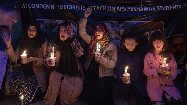 'Brein achter massamoord Peshawar gedood'