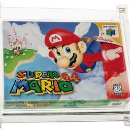 Spelcassette Super Mario 64 brengt 1,56 miljoen dollar op bij veiling