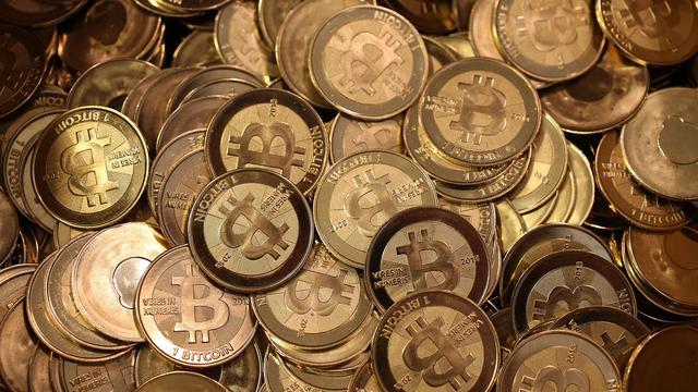 Bijna helft cryptogeld zit in bitcoin