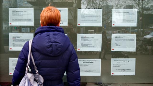 Werkloosheid verder gedaald in afgelopen kwartaal