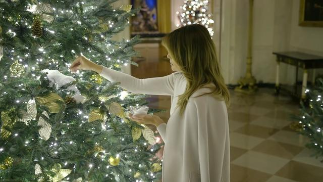 President Trump is klaar voor Kerst: Witte Huis versierd