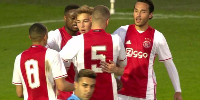 Samenvatting: Jong Ajax - Jong FC Utrecht (2-0)