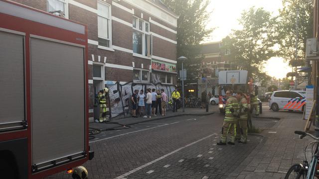 Vlam in de pan in woning aan de Lombokstraat in Utrecht