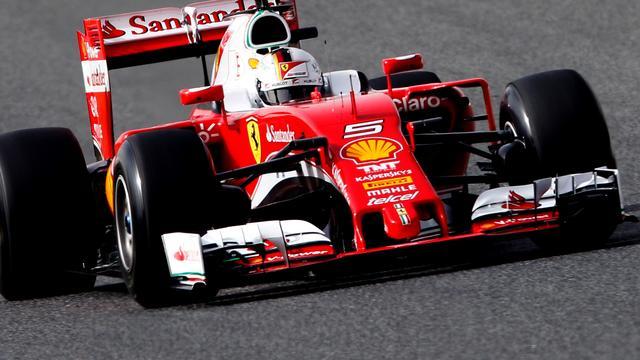 Vettel houdt positief gevoel over aan eerste testdag