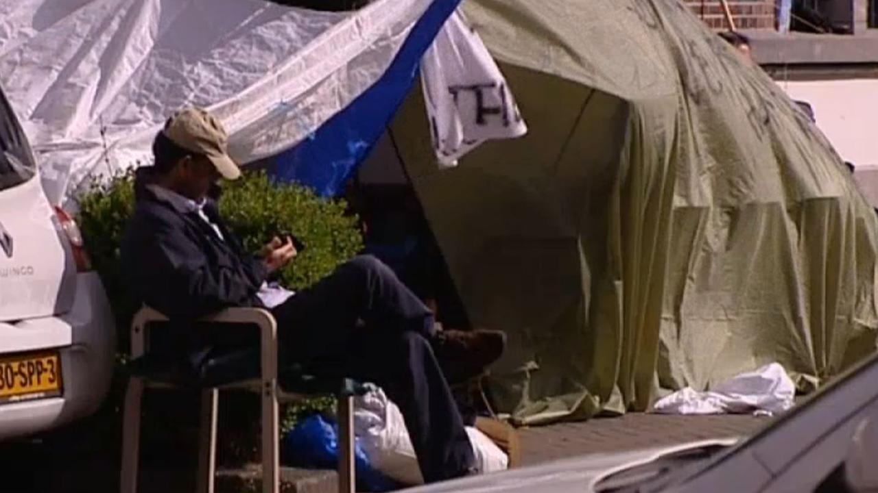 Nog vijftien asielzoekers Havenstraat in hongerstaking
