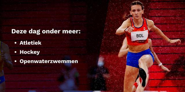 Olympisch programma 4 augustus: deze Nederlanders komen in actie