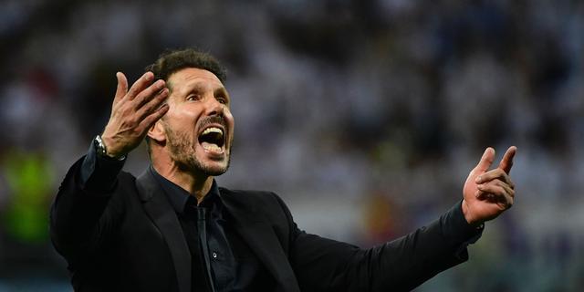 Simeone gaat na verloren finale nadenken over toekomst bij Atletico