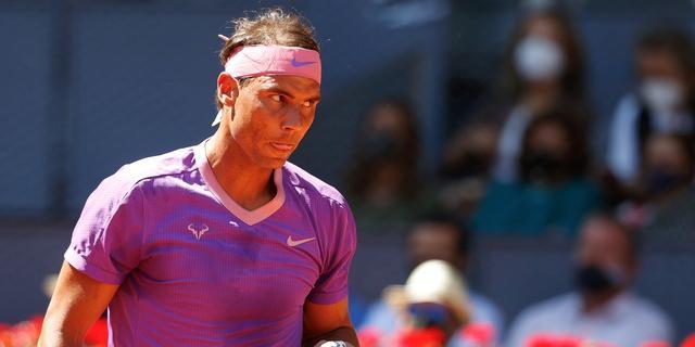 Nadal begint overtuigend aan jacht op zesde titel bij Masters Madrid